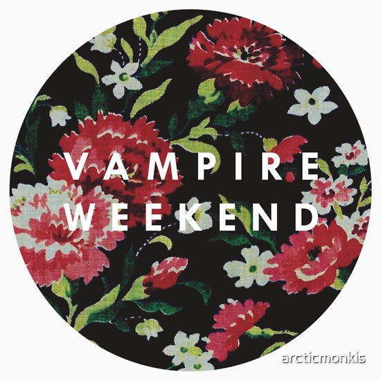 fc 550x550 white u3 jpgVampire Weekend Modern Vampires Of The City Floral