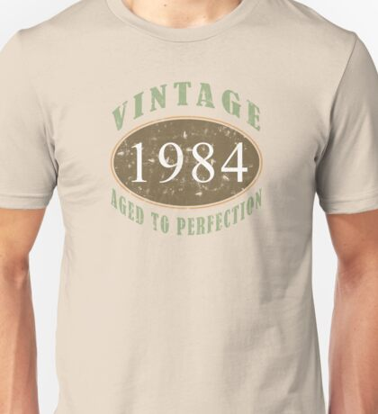 Vintage 1984, 30th Birthday T-Shirt Unisex T-Shirt