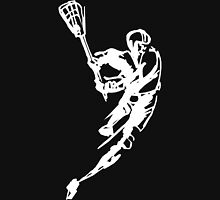 Lacrosse Player Dark Unisex T-Shirt