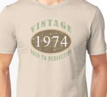 Vintage 1974, 40th Birthday T-Shirt Unisex T-Shirt