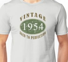 Vintage 1954, 60th Birthday T-Shirt Unisex T-Shirt