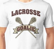 Lacrosse Goalie Unisex T-Shirt
