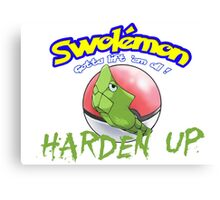 Pokemon - Harden Up Canvas Print