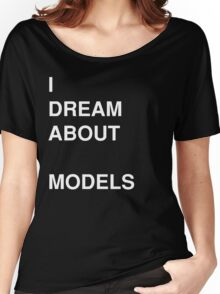 I Dream About Sketchup Models Women's Relaxed Fit T-Shirt
