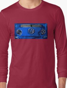 VW BLUE Illustration Long Sleeve T-Shirt