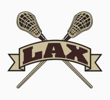 LAX Lacrosse by SportsT-Shirts