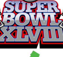 SUPER BOWL 2014 Sticker