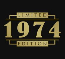 1974 Limited Edition T-Shirt by thepixelgarden