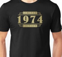 1974 Limited Edition T-Shirt Unisex T-Shirt