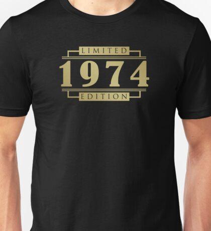 1974 Limited Edition T-Shirt Unisex T-Shirt