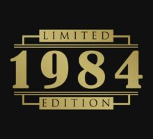 1984 Limited Edition T-Shirt by thepixelgarden