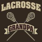 Lacrosse Grandpa Dark by SportsT-Shirts