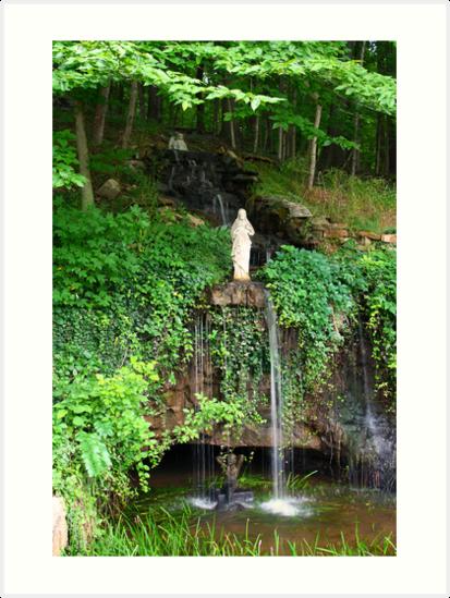 Garden Christ 1 by Daniel Owens