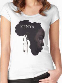 je suis kenya Women's Fitted Scoop T-Shirt