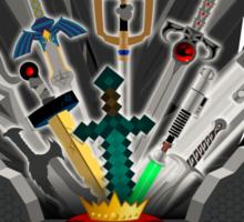 Gamer's Iron Throne Sticker