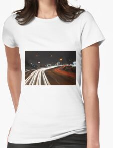 HWY 11 Womens Fitted T-Shirt