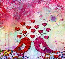 LOVE BIRDS by STUDIO 88 TARANAKI NZ