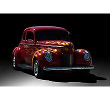 1940 Ford Coupe Street Rod Photographic Print