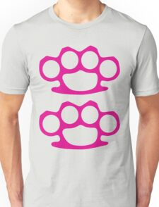 Two Pink Knuckles Unisex T-Shirt