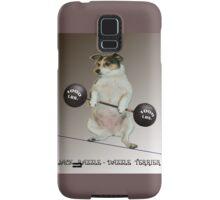 Weight Lifter Samsung Galaxy Case/Skin