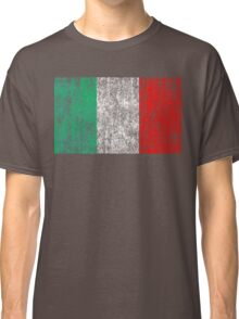 distressed italian flag Classic T-Shirt