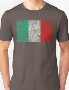 distressed italian flag Unisex T-Shirt