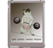 Weight Lifter iPad Case/Skin