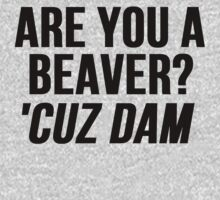Are You A Beaver? Cuz Dam! by mralan