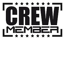 Crew Member Stamp Logo by Style-O-Mat