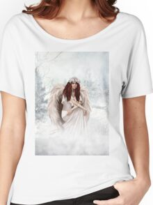 Winter Angel Women's Relaxed Fit T-Shirt