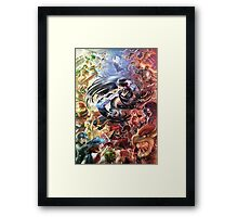 Smash 4 Bayonetta Reveal Illustration Framed Print