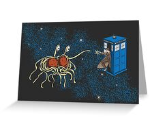 Wibbly Wobbly Noodley Woodley II Greeting Card