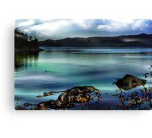 Along The Shore Canvas Print