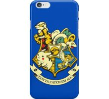 Pokemon hogwarts logo iPhone Case/Skin