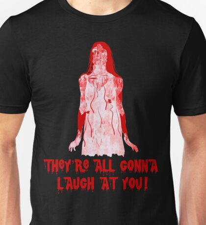 Carrie at the Prom Unisex T-Shirt