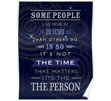 Not Time But The Person Poster