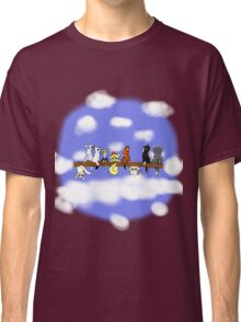 Cats in a tree Classic T-Shirt