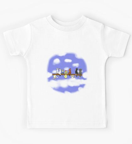 Cats in a tree Kids Tee
