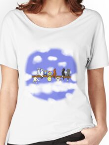 Cats in a tree Women's Relaxed Fit T-Shirt