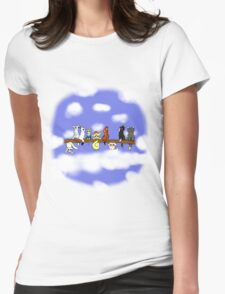 Cats in a tree Womens Fitted T-Shirt
