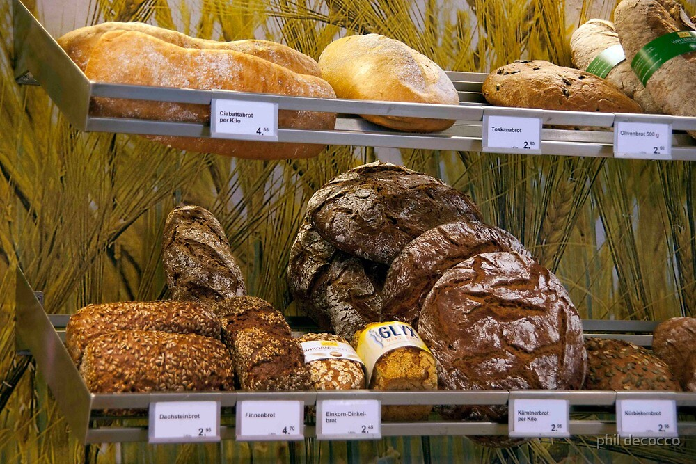 Lots Of Brot.... by phil decocco