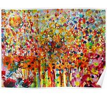Colourful Boquet Poster