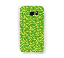 Australian colours Kangaroos - gold and green Samsung Galaxy Case/Skin