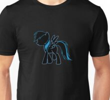 Rainbow Dash Blue Unisex T-Shirt