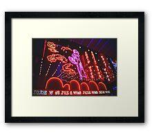 Suzie Wong Framed Print
