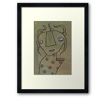 Illustrations 30 Framed Print