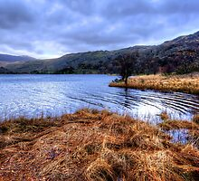 Llyn Cwellyn by English Landscape Prints