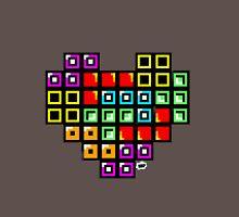 Tetris-Heart Unisex T-Shirt