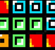 Tetris-Heart Sticker