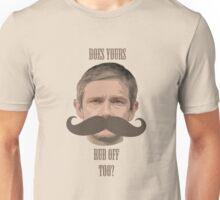 Watson's Moustache Unisex T-Shirt